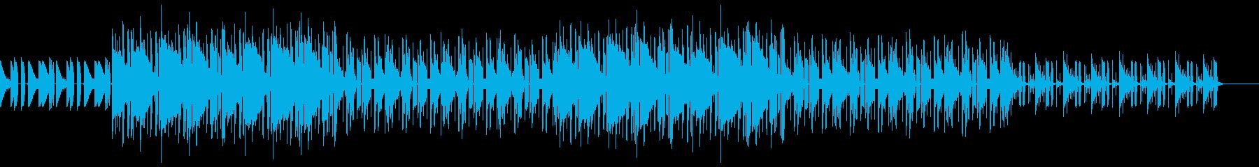 レトロ 切ない lofi hip hopの再生済みの波形