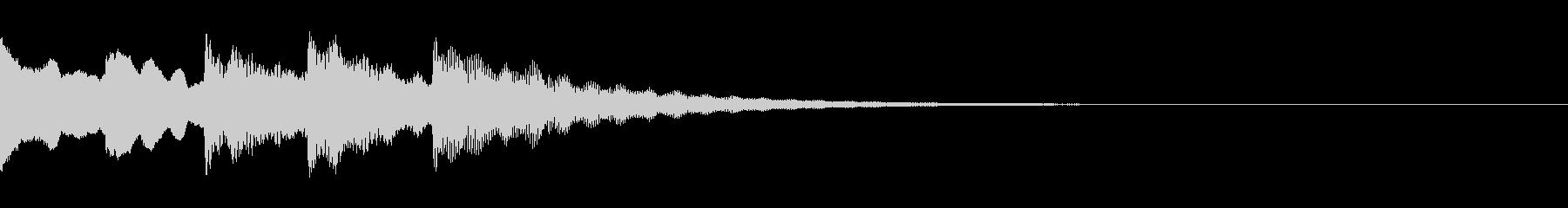 レアアイテム、イベントアイテム入手の未再生の波形