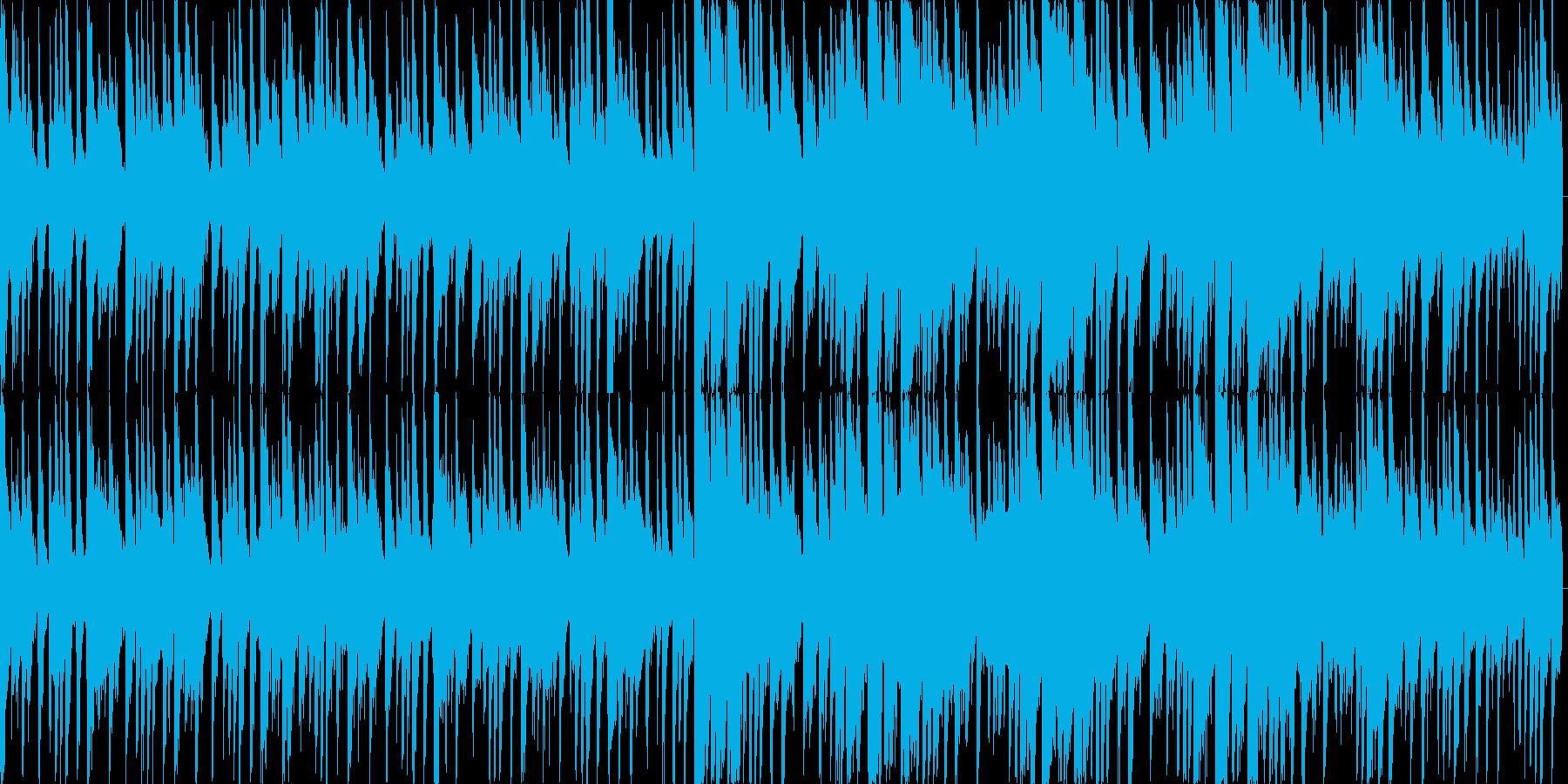 カフェにようこそ JAZZピアノの再生済みの波形