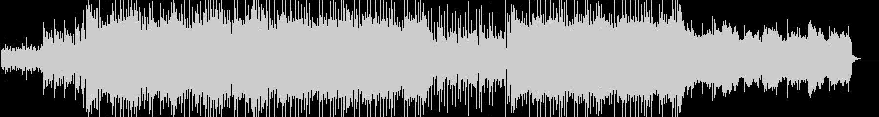 ストリングス&ギターさわやかなEDMの未再生の波形