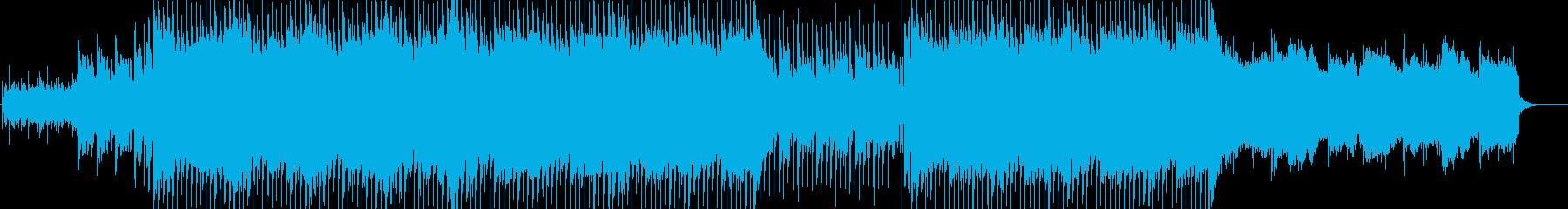 ストリングス&ギターさわやかなEDMの再生済みの波形