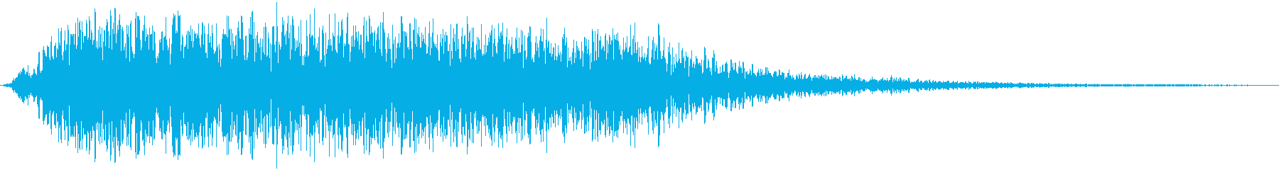 ドラゴンの咆哮/猛獣/モンスターの再生済みの波形