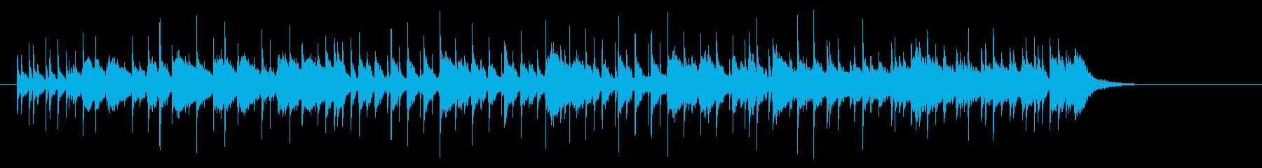 ポップなプログレの再生済みの波形