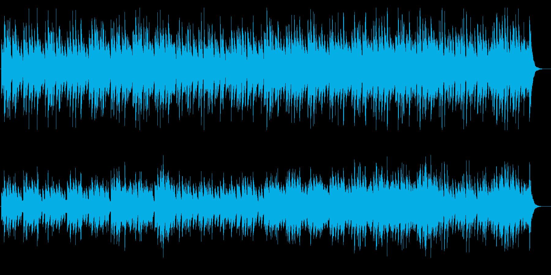 湯葉の店で流れそうな明るい琴の再生済みの波形