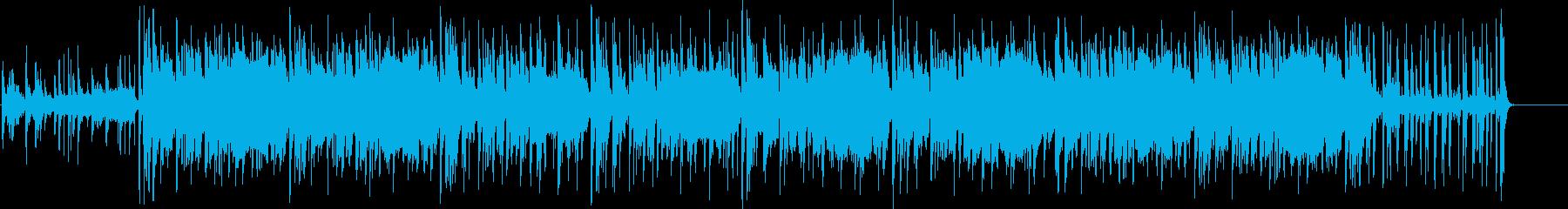 ちょい個性的なHIPHOPエレクトロの再生済みの波形