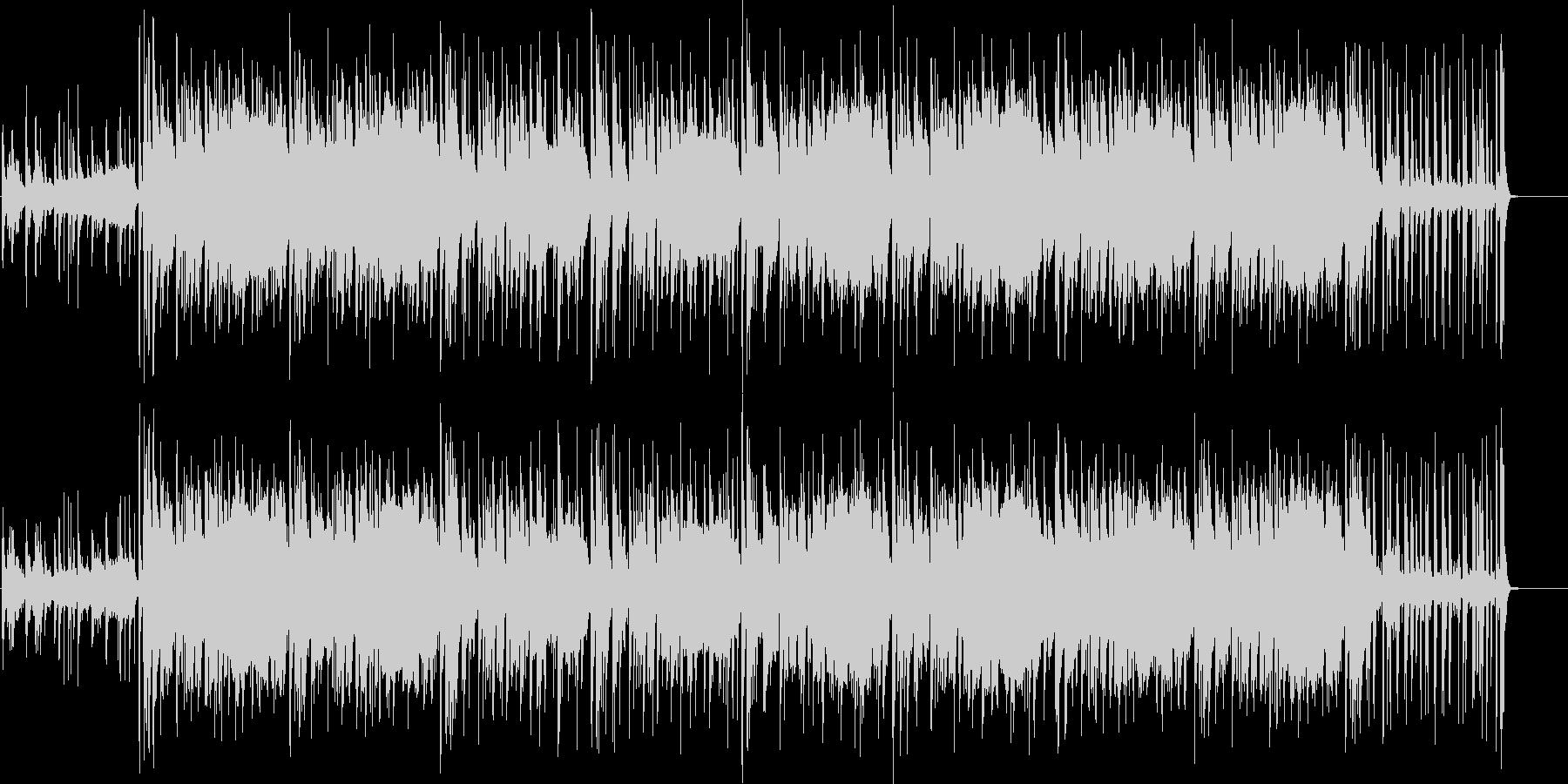 ちょい個性的なHIPHOPエレクトロの未再生の波形