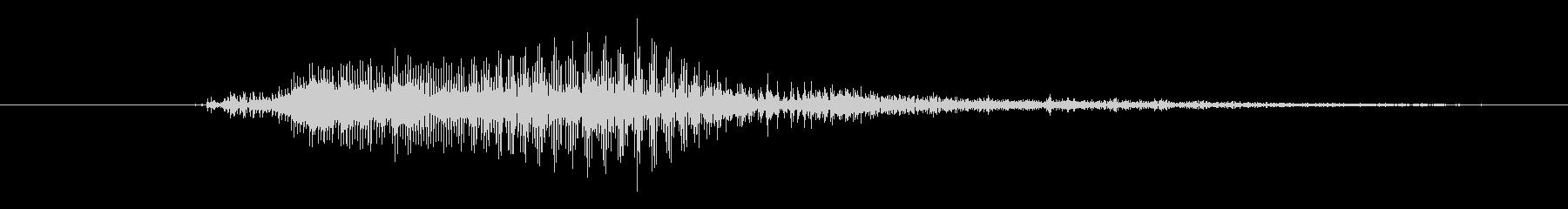 モンスター アサルトハイ02の未再生の波形