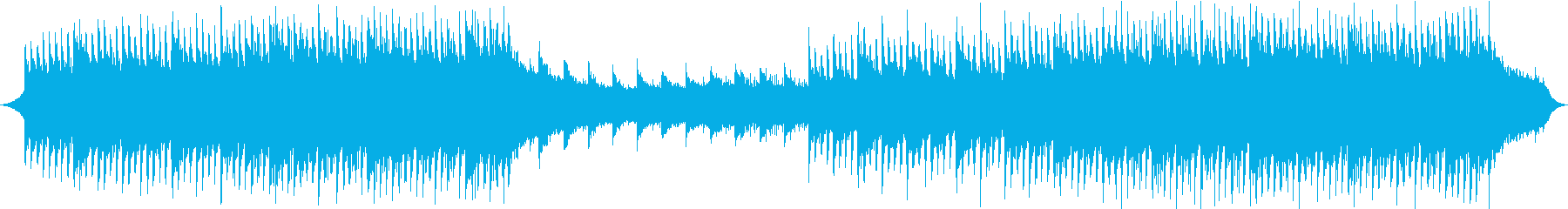 Happy and energetic track's reproduced waveform