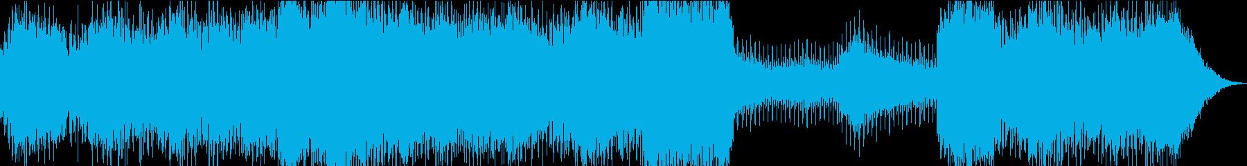 弾力のある流れるようなシンセパッド...の再生済みの波形