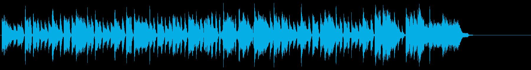 甘エビをテーマにした楽曲の再生済みの波形