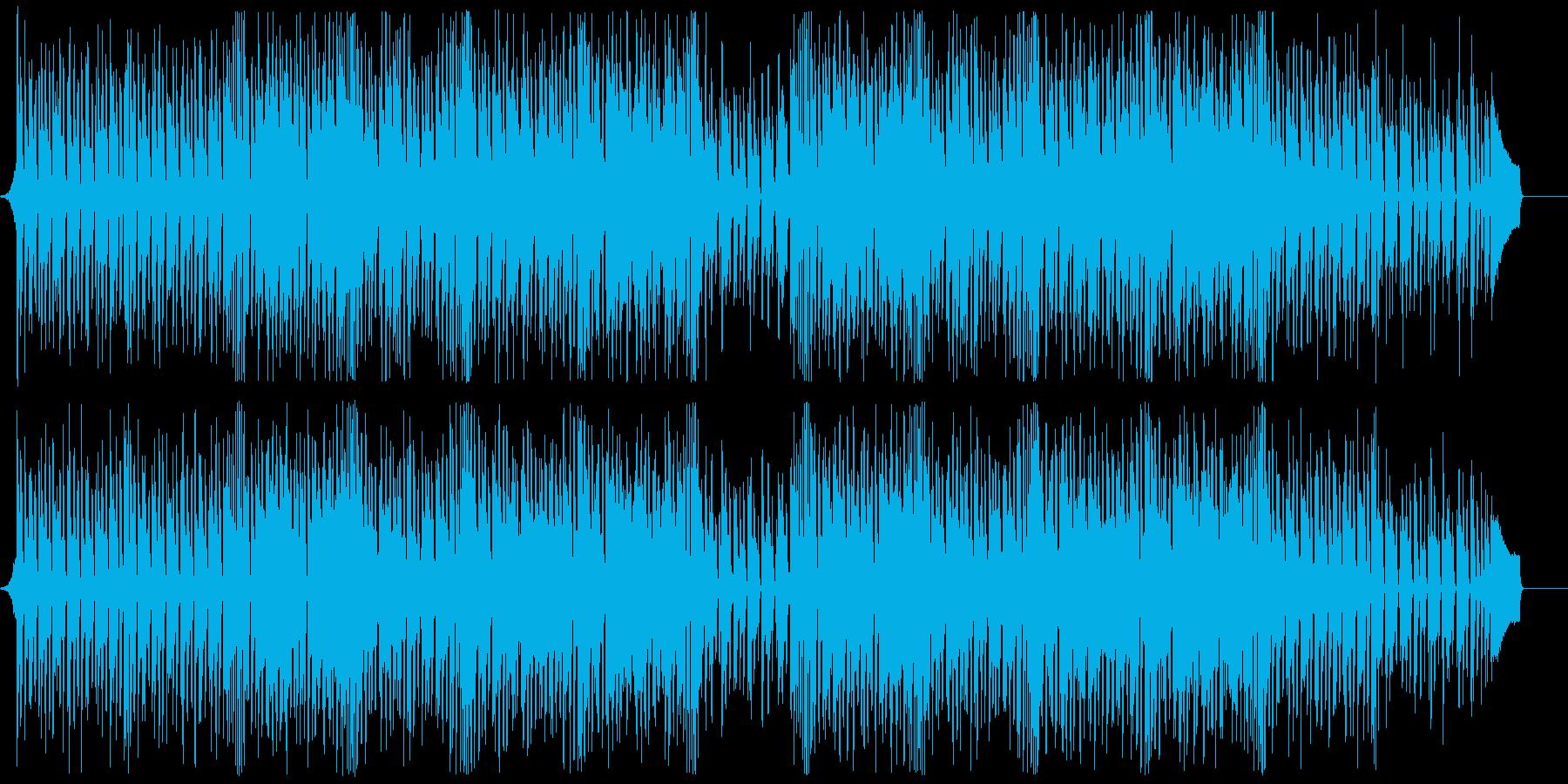 調子外れの明るいリコーダーポップの再生済みの波形