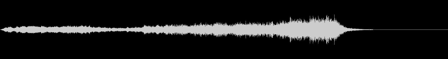 ホラー系効果音03の未再生の波形