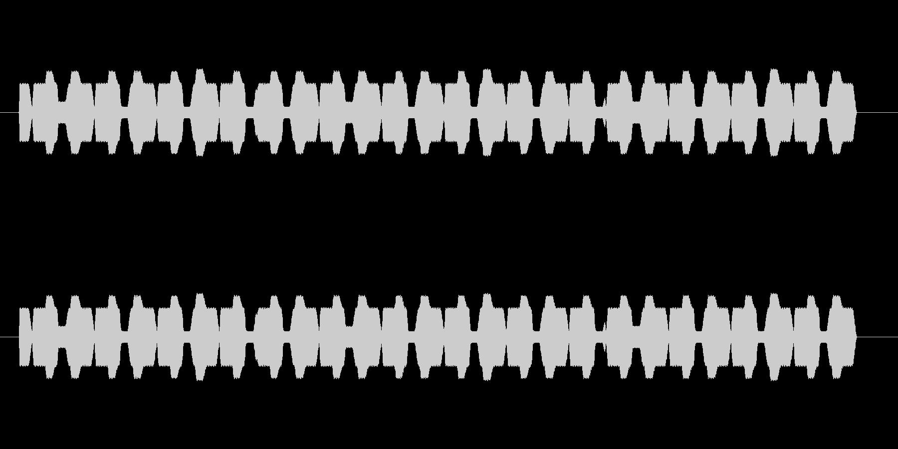 ライフゲージの未再生の波形