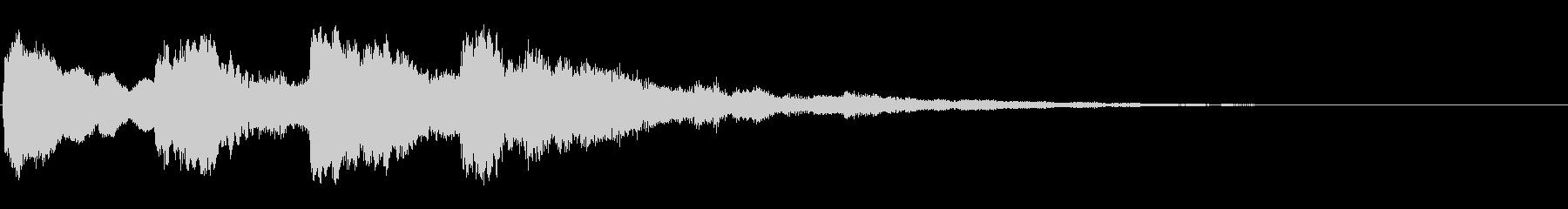 ピンポンパンポン02-2(バイノーラル)の未再生の波形