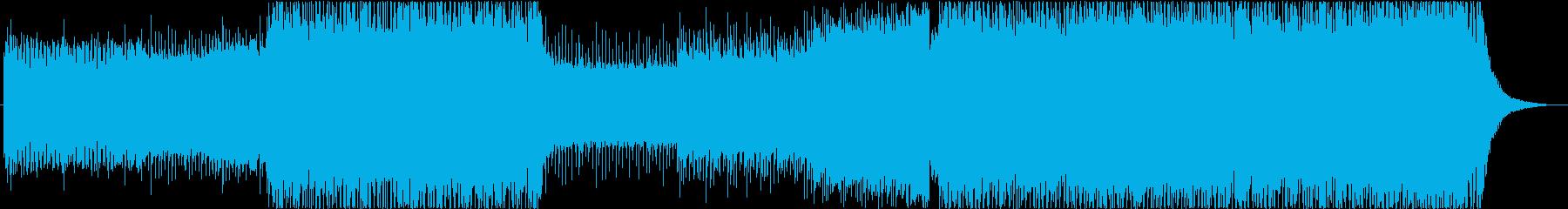 未来感漂うEDMの再生済みの波形