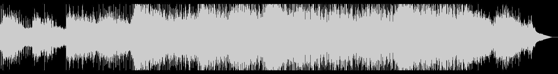 捻れてビープなテクスチャIDMの未再生の波形