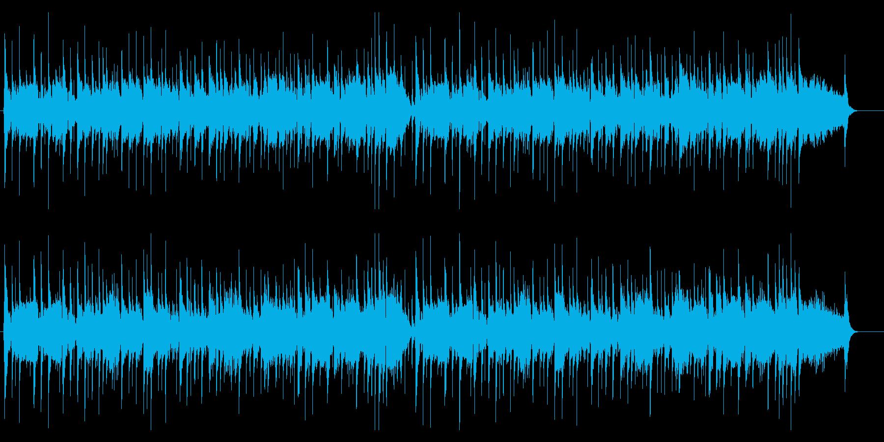 尺八・箏・三味線の純和風さくらさくら(長の再生済みの波形