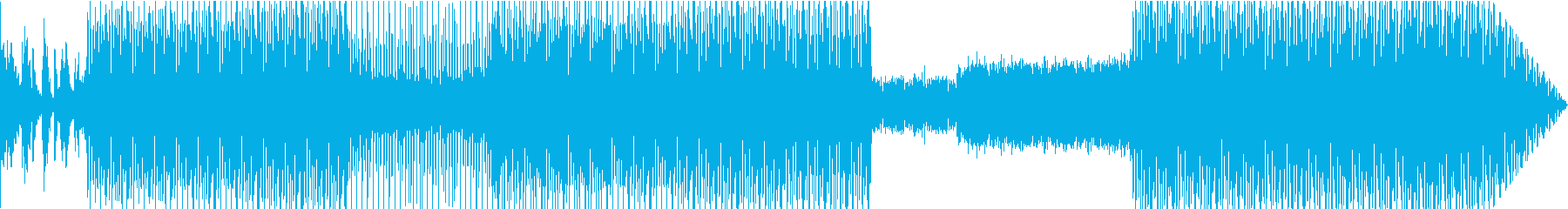 ソウルスタイルのクールトラックの再生済みの波形