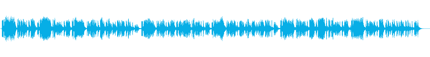 Flute solo song inspired by the weather forecast's reproduced waveform