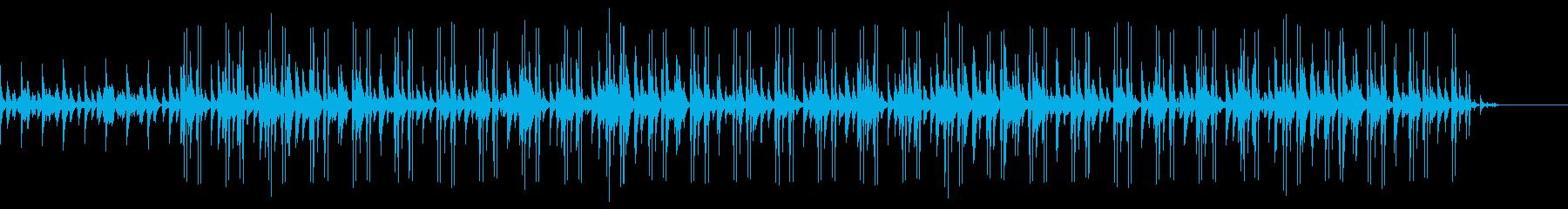 幻想的な琴・打弦楽器のアンサンブルの再生済みの波形