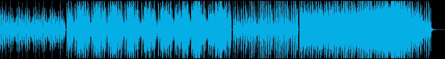 おしゃれ・癒し・チルアウトなトラップの再生済みの波形