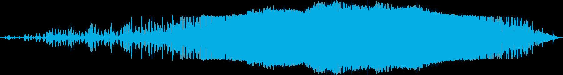 もわーんぎゅーんの再生済みの波形