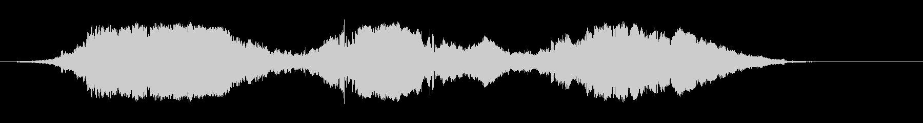 カートインディカー;アウトオブター...の未再生の波形