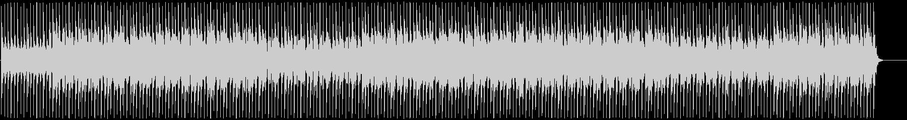 奇怪でエレクトリックなBGMの未再生の波形