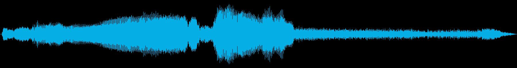 ビンテージ 車 シボレー57加速エ...の再生済みの波形