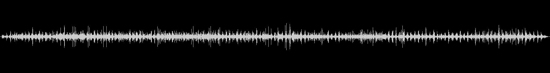 鎧 軍隊のレザーメタルラン02の未再生の波形