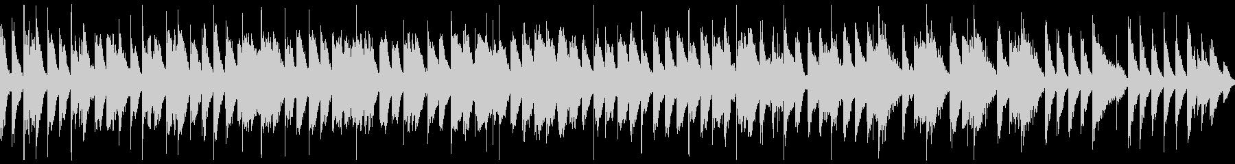 【ループ再生】かわいい・楽しい・BGMの未再生の波形