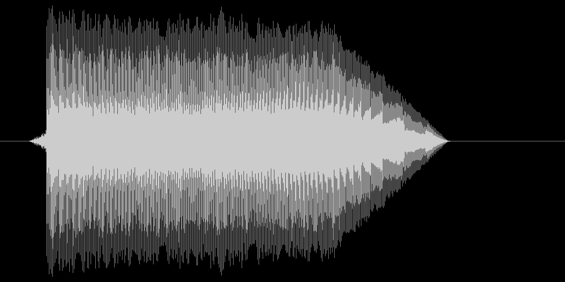 ゲーム(ファミコン風)ジャンプ音_018の未再生の波形