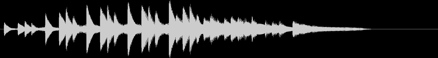 XmasキャロルオブザベルズジングルAの未再生の波形