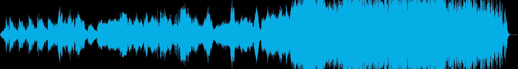 エレクトリックにほんわか曲の再生済みの波形