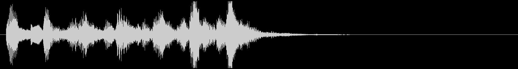 のほほんジングル038_コミカル-3の未再生の波形