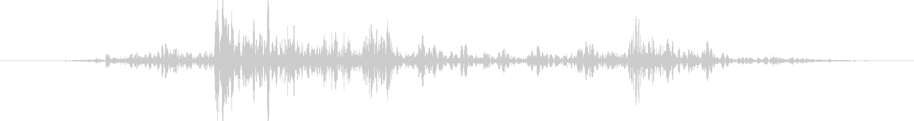 ガタタッ【汎用的な物音】の未再生の波形