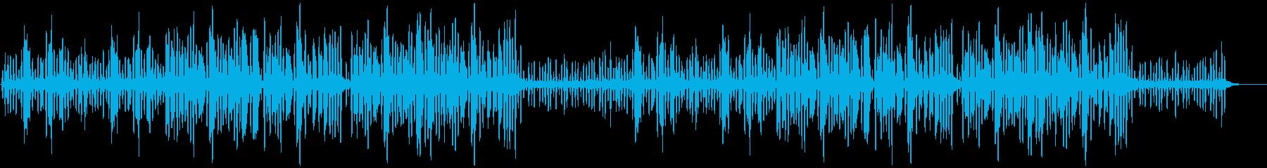 リコーダーの元気で可愛い曲1_ロングの再生済みの波形