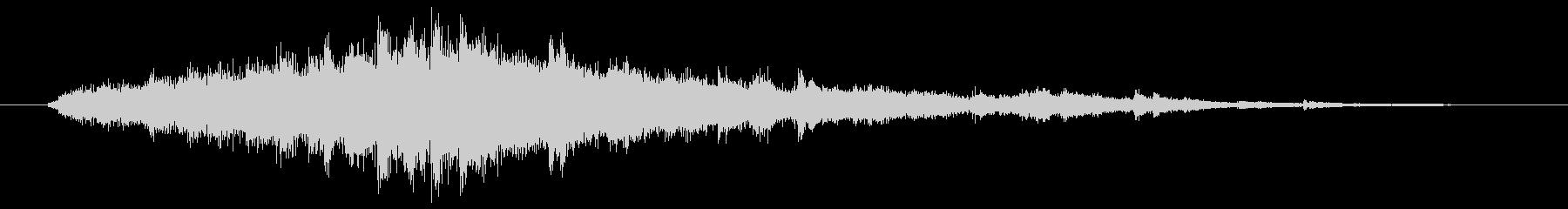 キラキラ音(変身、思いつき、回復)   の未再生の波形