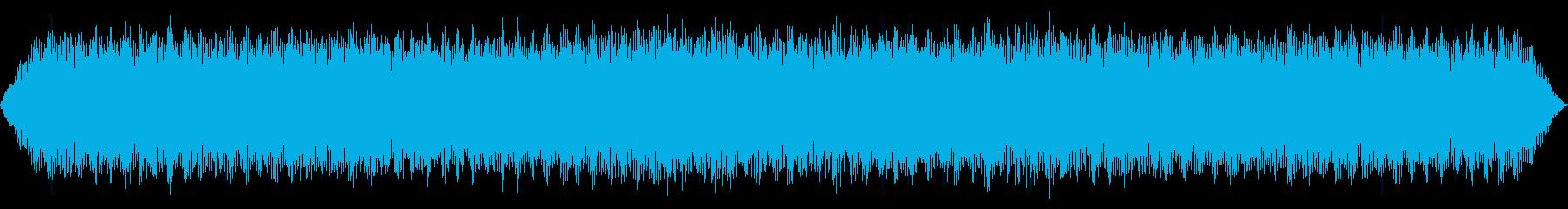 プロペラ機エンジンのアイドリングの再生済みの波形