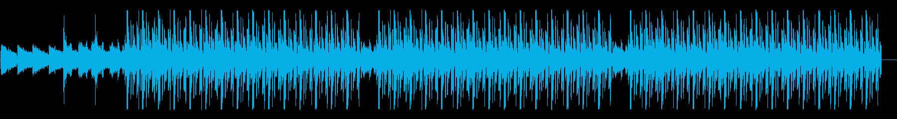 お洒落でグルーヴィーなHipHopの再生済みの波形