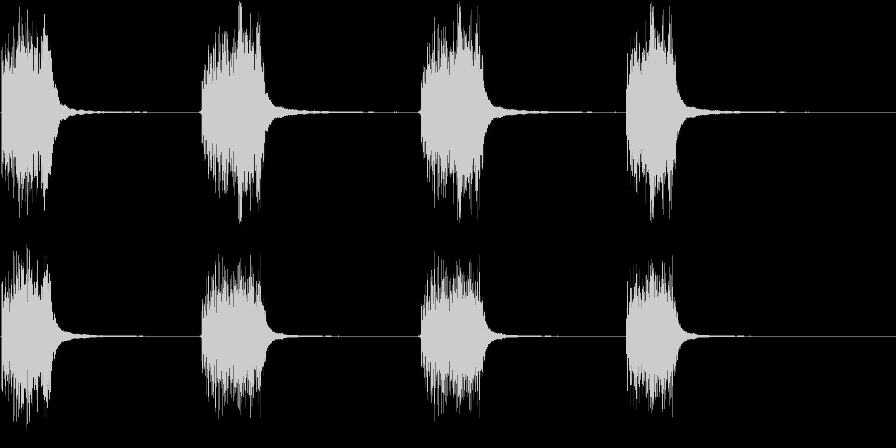 電話リング;ベルのガラガラ音、リン...の未再生の波形