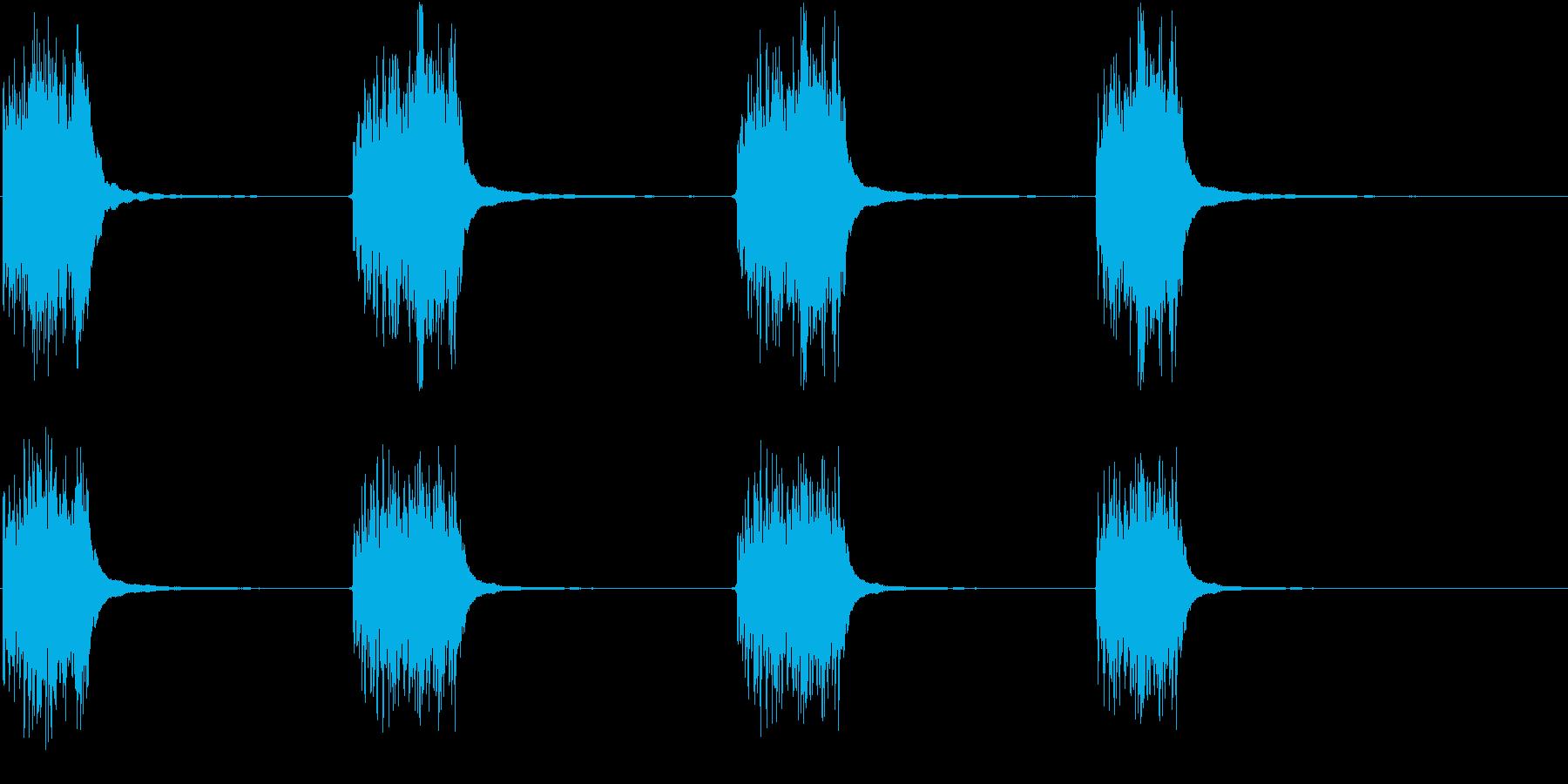 電話リング;ベルのガラガラ音、リン...の再生済みの波形