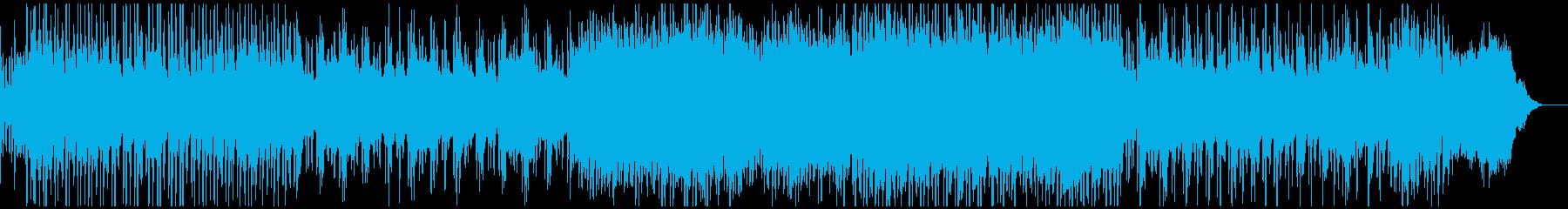クリスマスのミュージカル風オーケストラの再生済みの波形
