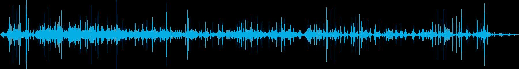 中世のカタパルト:ドローの再生済みの波形