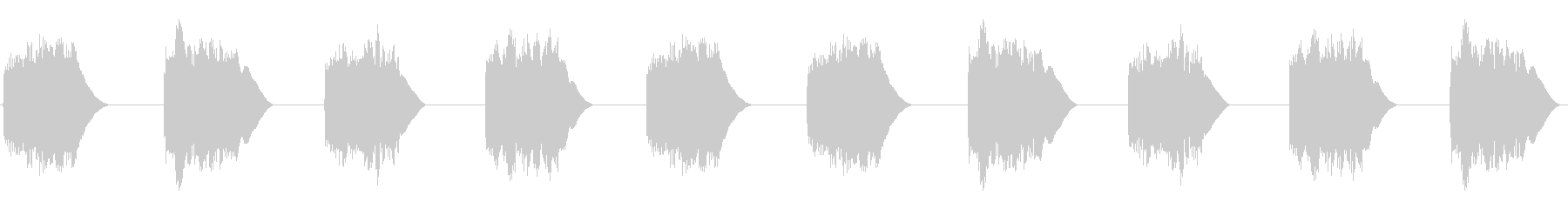 (ジリーンジリーン)黒電話着信音01の未再生の波形