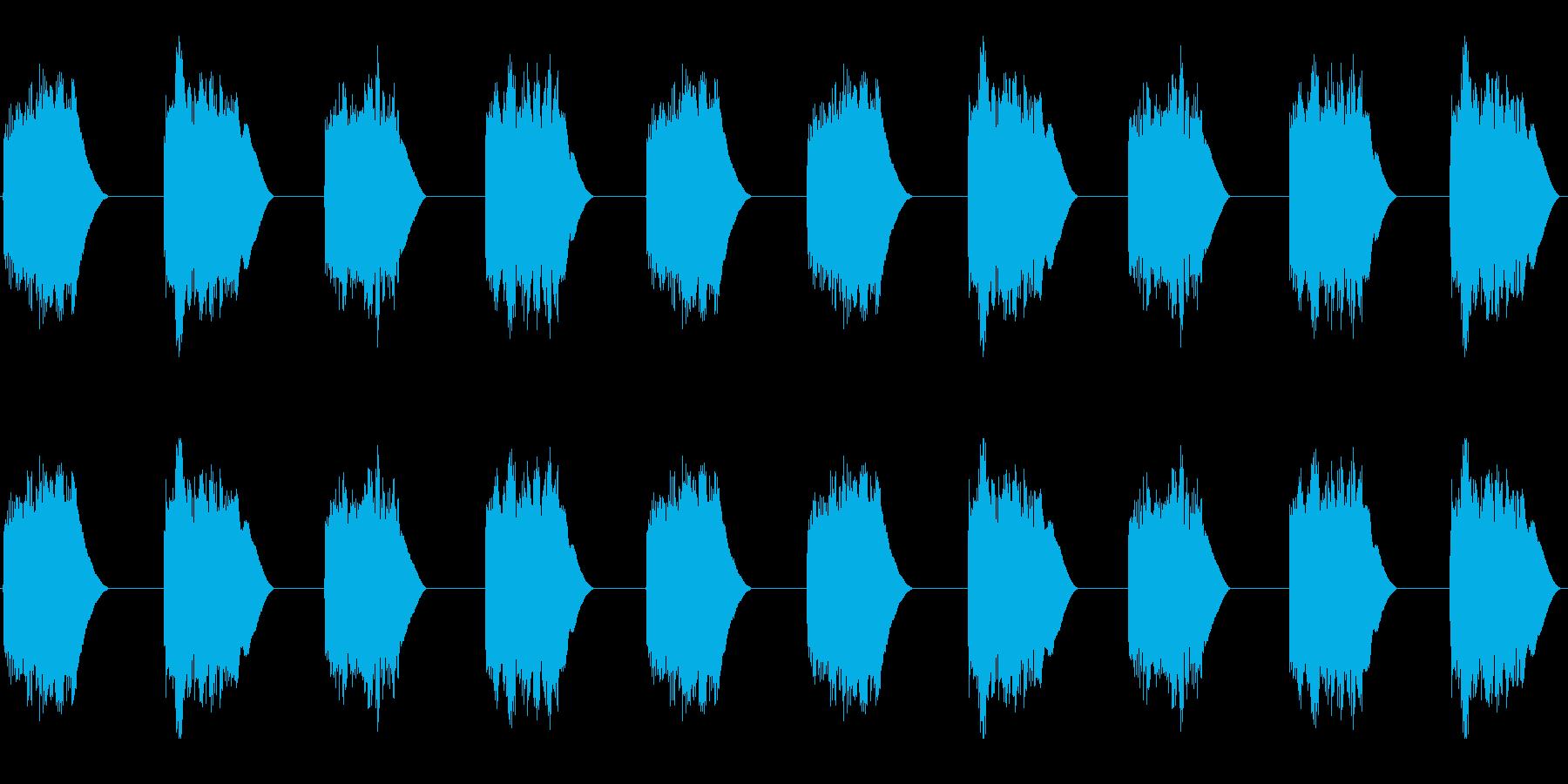 (ジリーンジリーン)黒電話着信音01の再生済みの波形