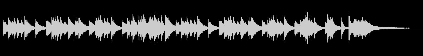 大人の雰囲気のバー・カフェ ジャズピアノの未再生の波形