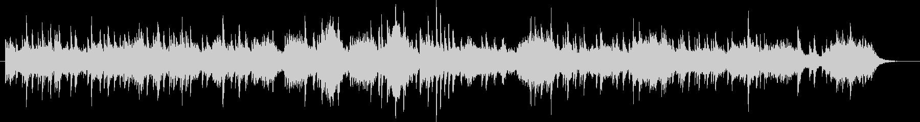ピアノソロとSEの切ない曲の未再生の波形