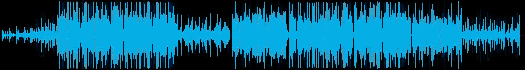不気味な雰囲気のTrap Beatの再生済みの波形