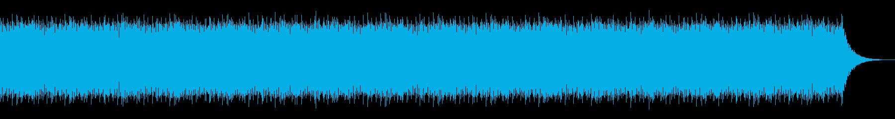 クラブ系ダンスBGMの再生済みの波形